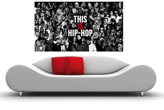 Hip Hop Legends Old School Art New Print 27x40 24x36 Poster C-123