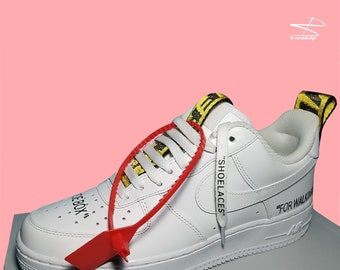 online store 9170b c6970 Off White Air Force 1 Customs free fast shipping within max 5 days (dhl)  worldwide