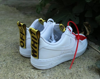 e7b21535f READY to SHIP Off white Air force 1 Free Fast shipping