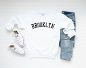 Brooklyn Sweatshirt, Brooklyn Crewneck Sweatshirt ,Brooklyn Sweater ,New York Vintage Crewneck Sweatshirt ,Gift for Men or Women
