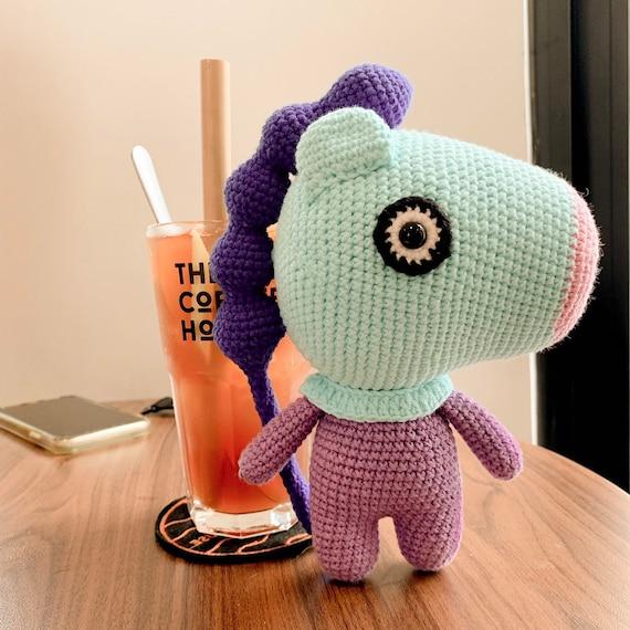 BT21 Mang Plush ♥ Crochet Pattern — MooeyAndFriends | 570x570