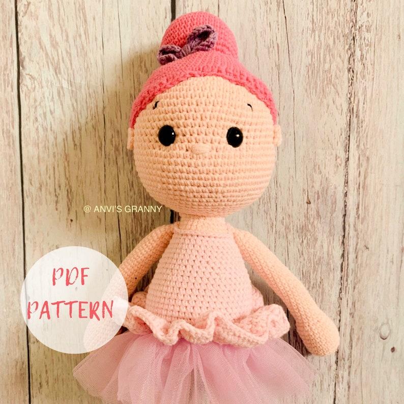 Ballerina doll amigurumi pattern - Amigurumi Today | 794x794