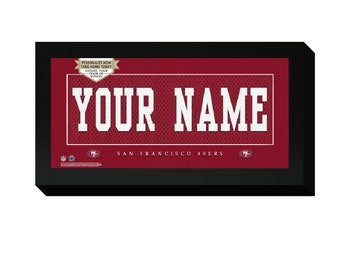 a0925a256 Personalized San Francisco 49ers Frame
