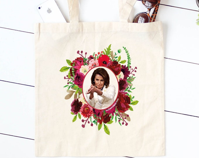 NANCY CLAP / Pelosi Tote Bag