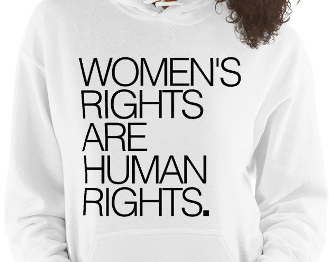 Women's Rights are Human Rights / HOODIE [8 Colors]