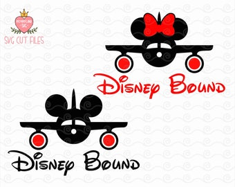 Disney Bound Family Shirt Design / Mickey Minnie Mouse SVG / Disney Digital Cut Files / Instant download design for cricut or silhouette