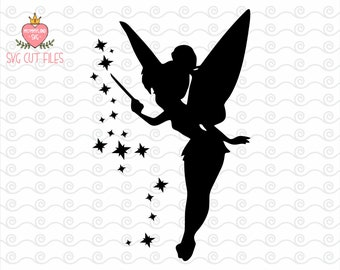 Tinkerbell SVG / Tinkerbell PNG / Peter pan Tinkerbell SVG / Disney Digital Cut Files / Instant download design for cricut or silhouette
