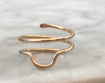 Arch wrap ring
