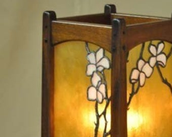 Arts And Crafts Lighting Craftsman Style Table Lamp Etsy
