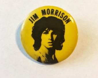 "Pin Button Badge Ø25mm 1/"" Logo Symbol The Doors Jim Morrison Rock US"
