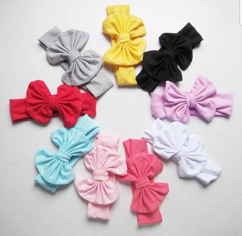 hairbow hairbow knot kids headbands headwrap headbands