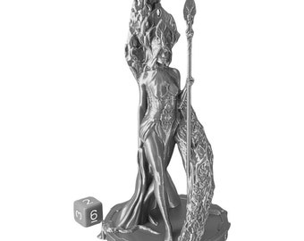 The Goddess of Life Statue Wargaming Scatter Terrain Warhammer Dungeons and Dragons Objectives