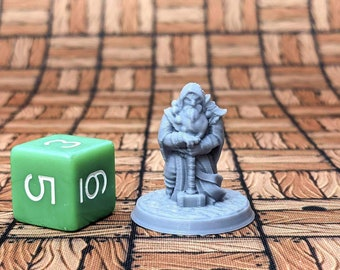 Ulrich the Paladin Dungeons and Dragons Class Miniature (D&D DnD) 28mm 32mm Wargaming Fantasy RPG Tabletop Games