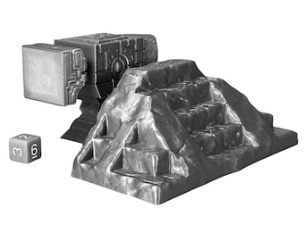Anvil of Calamity Wargaming Scatter Terrain Warhammer Dungeons and Dragons Objectives