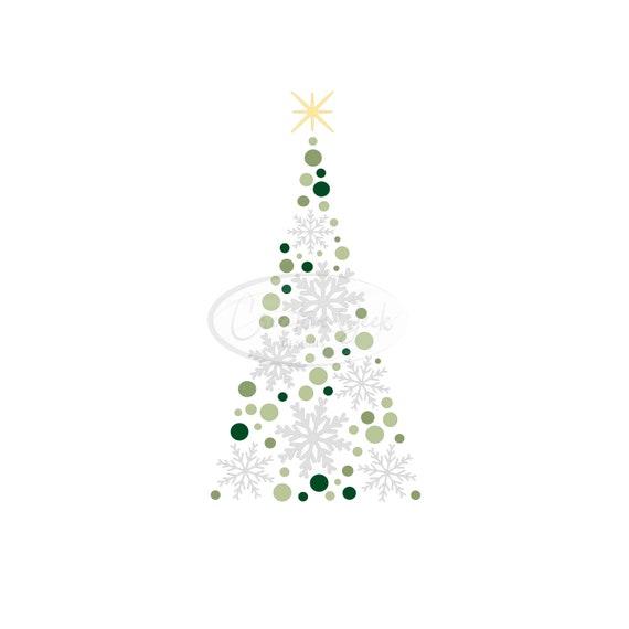Christmas Tree Svg Digital Download Die Cut Shapes Etsy