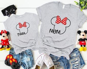 f61c133cd Disney Family Shirts| Mickey and Minnie Head shirt|Disney custom Shirt| Mickey Silhouette,Disney Cruise Shirts, Disney Personalized Shirt D35