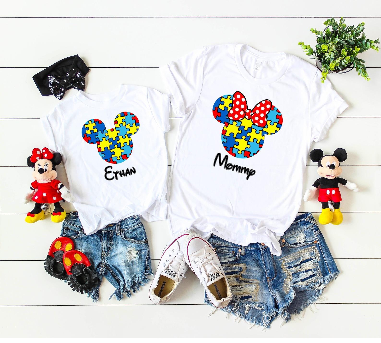 Autism Disney Vacation Shirts
