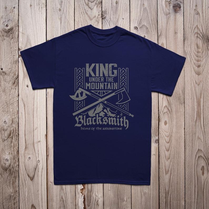 Men/'s King Under the Mountain Blacksmith Tee