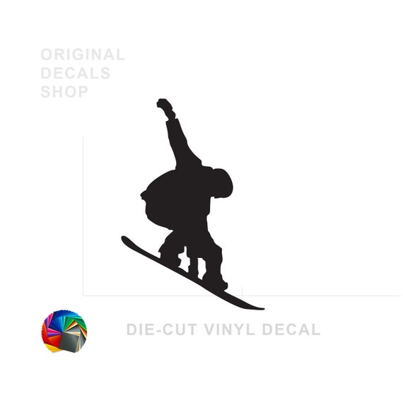 Sport Window Sticker Car Decal Decal Customized Snowboarding Team