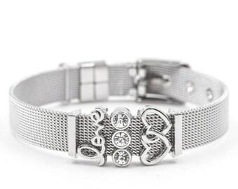 Pandora mesh bracelet