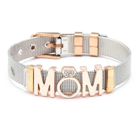 Pandora Reflexions, Pandora Bracelet, Fashion Woman Bracelet Stainless  Steel Mesh Bracelets, Adjustable European Style Bracelet