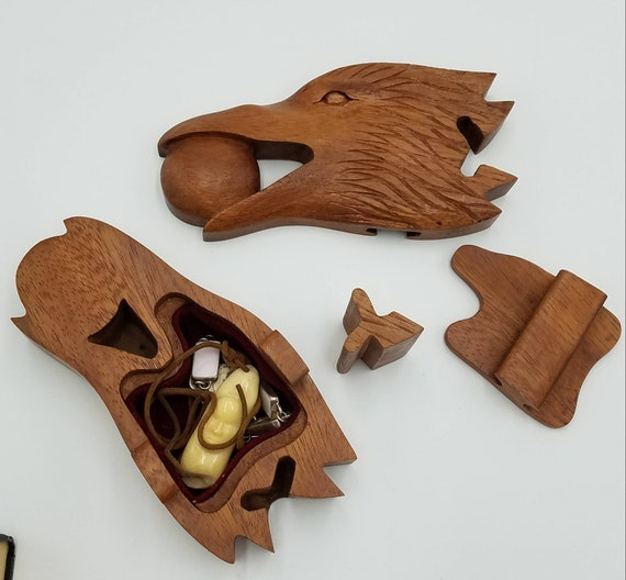 wooden walrus puzzle