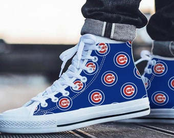 58e16a11560 Chicago Cubs Fan Unofficial - Baseball Fan - Personalized Shoes/Sneakers/Trainers  - Ladies & Mens