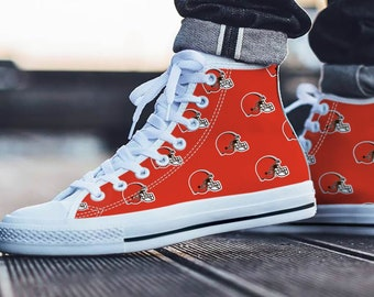f0c34e6d8a2 Cleveland Browns Fan Unofficial - Football Fan - Personalized Shoes Sneakers Trainers  - Ladies   Mens