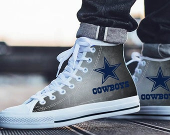 08920fa887f Dallas Cowboys Fan Unofficial - Football Fan - Personalized Shoes/Sneakers/Trainers  - Ladies & Mens