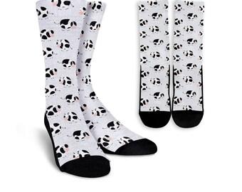 47a0e036f Cows Socks - Cows Lover Socks - Cows Gift - Personalized Crew Socks