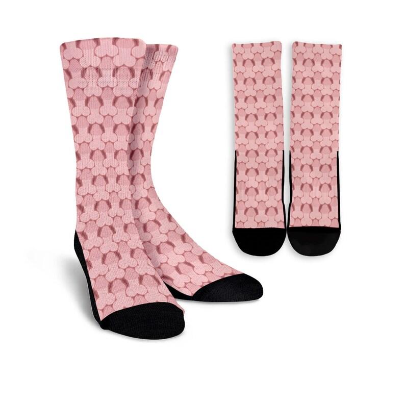 f57ec312157 Dicks Socks - Penis Lover Socks - Dick Joke Gift - Personalized Crew Socks