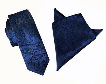 Red Necktie Paisley Men/'s Skinny Tie Gift for Him Gift for Dad Silk Tie Vintage Necktie Cain-Sloan Tie Skinny Necktie Gift for Men