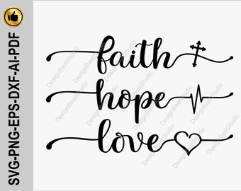 Download Get Free Faith Hope Love Svg Background Free SVG files ...