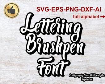 Cricut font   Etsy