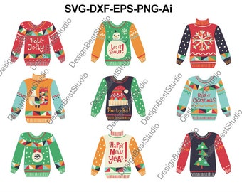 0dfcf8d0e Ugly sweater clipart