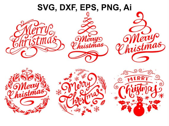 merry christmas svg christmas svg file christmas clipart etsy merry christmas svg christmas svg file christmas clipart instant download christmas eps png ai cut file svg file dxf silhouette