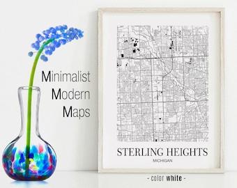 Sterling Heights Mi Etsy