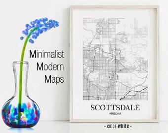 Scottsdale print | Etsy