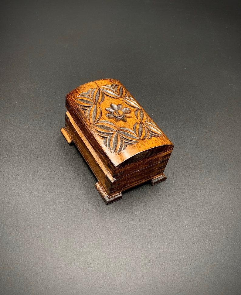 Woodcarving jewellery box Jewellery Box