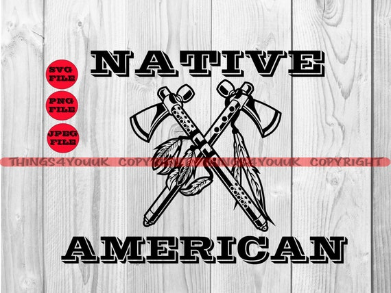 Crossed Axes Svg Lumberjack Logo Indian Axes Tomahawk Svg Etsy