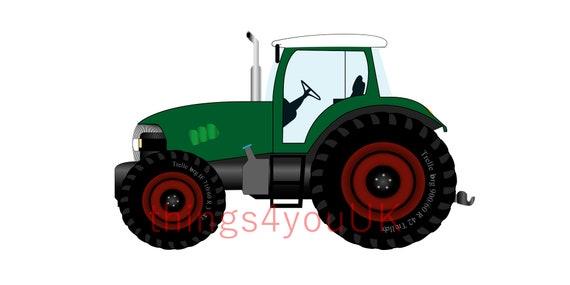 Tractor Svg Farm Equipment Tractor Birthday Birthday Boy Etsy