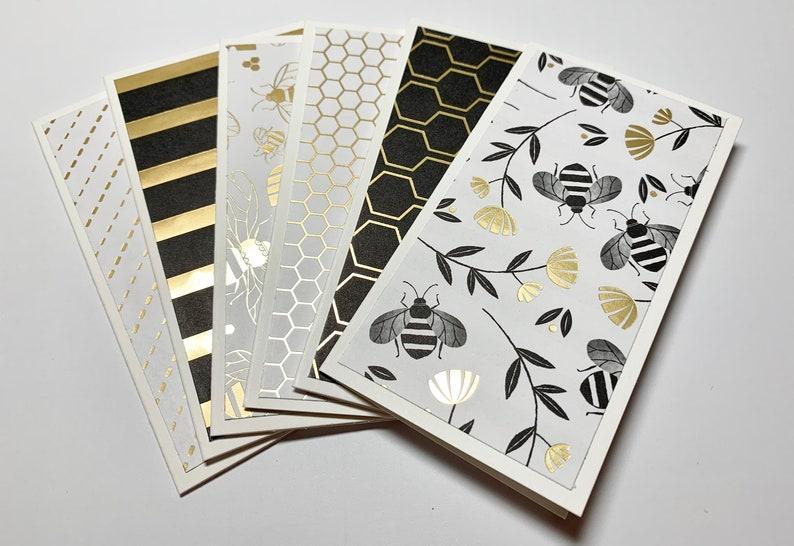 Bee Bee Charm Gift Card Handmade Card Coworker Gift,