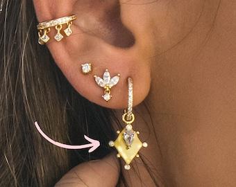 Hoop  27.5mm Thin Large Circle Studs Hoop Earrings Sterling silver earrings geometric earrings Silver Circle  stud bridesmaid gift,