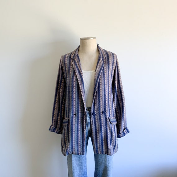 Vintage Adini Woven Cotton Jacket