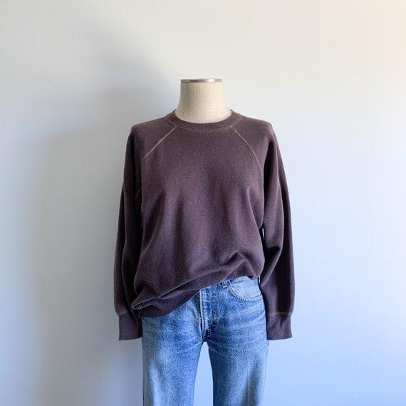 Vintage Mauve Crewneck Raglan Sweatshirt