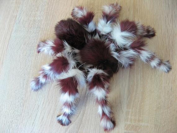 Tarantula Stuffed Animal, Burgundy Tarantula Realistic Fake Spider Real Fur Toy Etsy