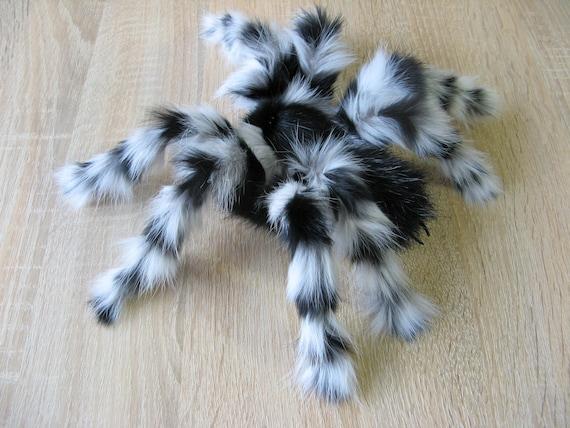 Tarantula Stuffed Animal, Fake Arctic Spider Plush Tarantula Stuffed Insect Real Fur Etsy