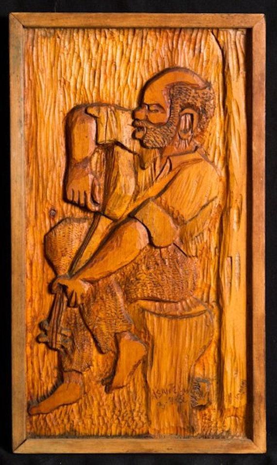 Wood Art Wood Wall Hangings African Wood Sculpture Nigerian Art Nigerian Sculptures Wooden Art Handmade Art Handmade Sculpture