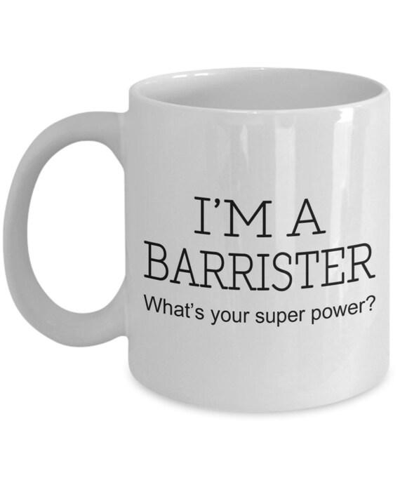 Barrister Funny Gift Mug shan322