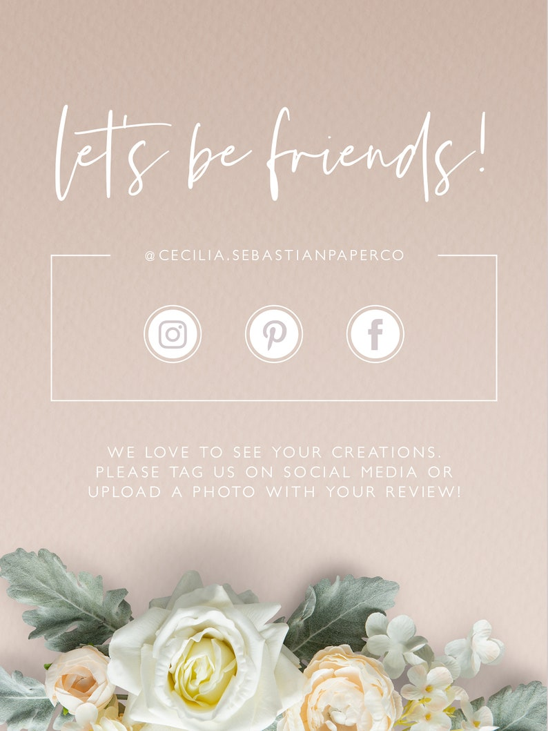 Modern Save the Date Printable Instant Download DL49 Elegant Save the Date Minimalist Wedding Photo Save The Date Editable Template
